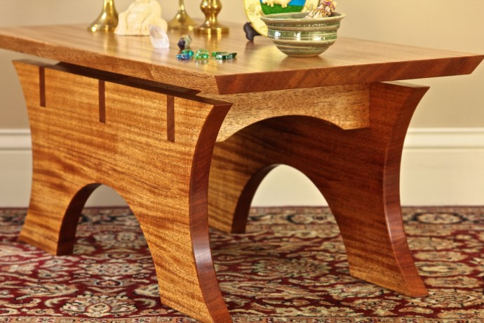 I Was Recently Commissioned To Design U0026 Build An Altar Table For A Clientu0027s  Yoga Studio In Coastal Rhode Island. This Piece Is An Original Design That  Was ...